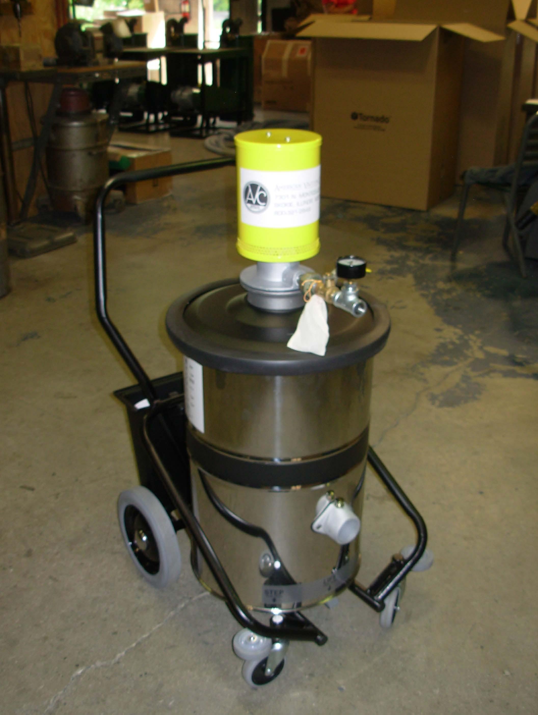 Milestone Equipment Industrial Vacuum Tornado Air Vacuum